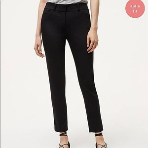 Ann Taylor Loft Julie fit skinny pants ankle